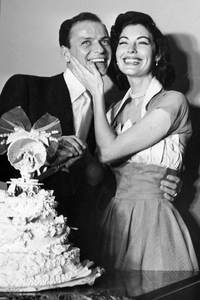 Фрэнк Синатра и Ава Гарднер, ноябрь 1951
