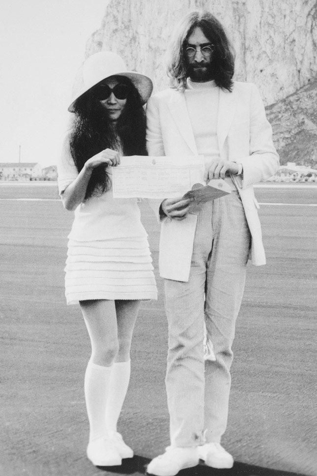 Джон Леннон и Йоко Оно, март 1969