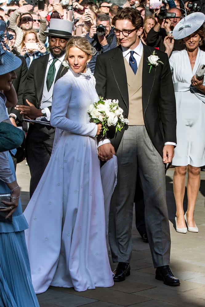 Каспар Джоплинг и Элли Голдинг в Chloé, август 2019