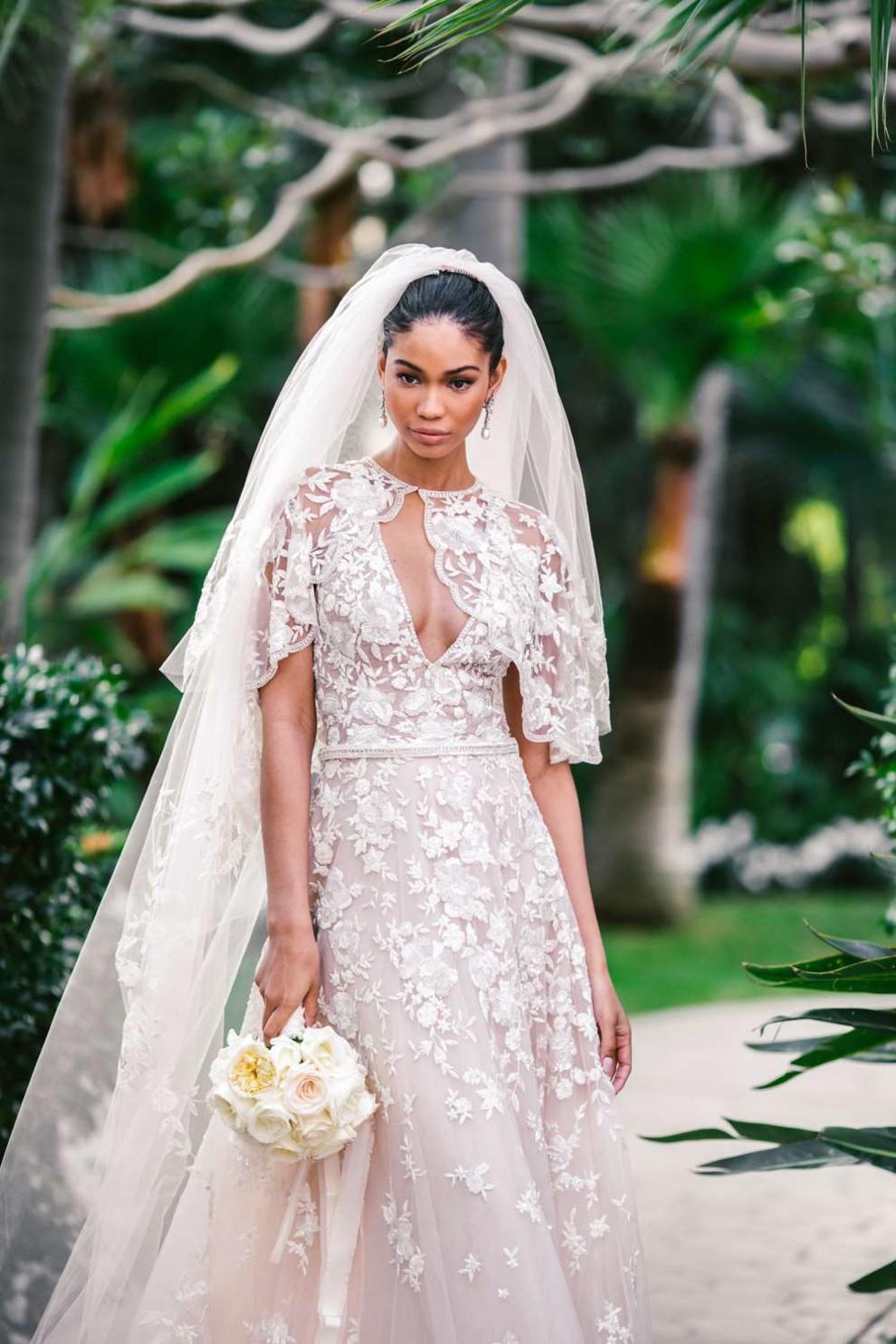 Свадебное платье Шанель Иман